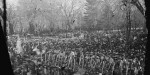 Recently discovered photos of Abraham Lincoln's inauguration