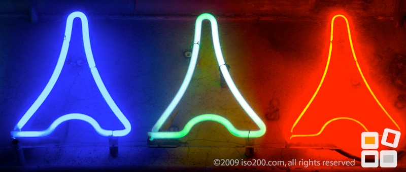 Photo blog post: 'Neon triplets'