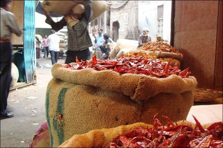 An Indian spice market feels the heat – a photo gallery