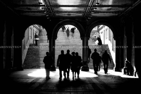 My NY – urban monochrome photos by Áron Süveg