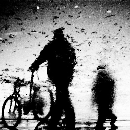 Mysterious Shadows and Reflections – black and white photos by Nora