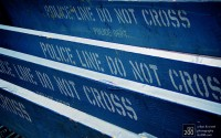 Photo blog photo: 'Police line – DO NOT CROSS'
