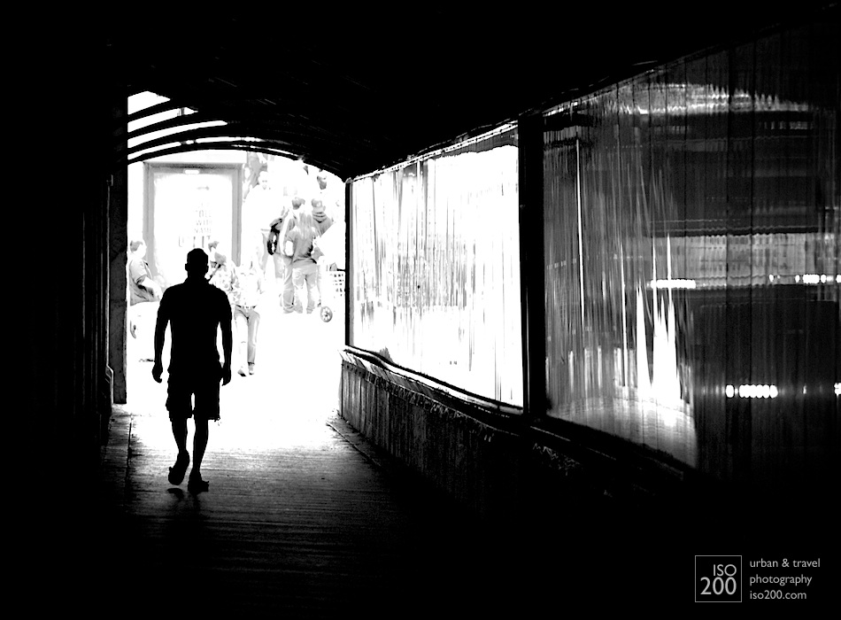 Photo blog post: 'Walk out of the light'