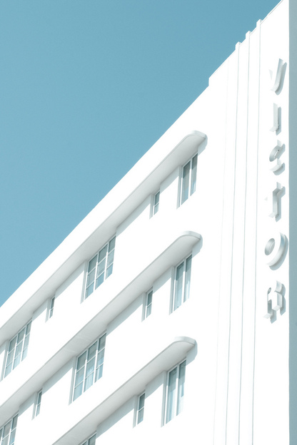 Art Deco Miami Beach – architectural photography by Adam Sherbell