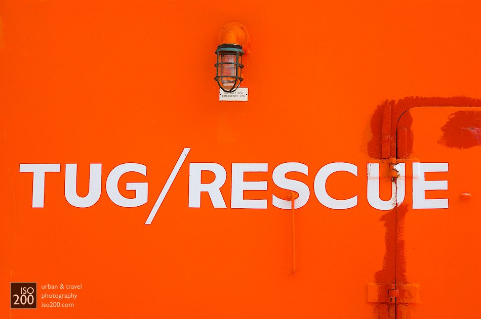Photo blog post: 'Tug/Rescue – The Edward Stowe tug, Dockyard, Bermuda'