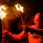 Photo blog post: 'The fire man'