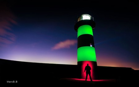 Photographer Marc Bower-Briggs paints buildings with light