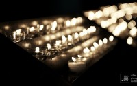 Photo blog photo: 'Flickering candles'