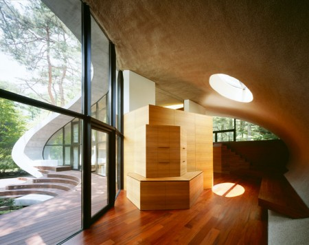 The Shell Residence by Kotaro Ide – architectural photography