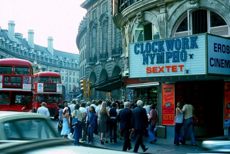 Streets of London – photos from 1976-1978