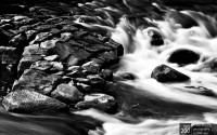 Photo blog photo: 'Cramond rapids'