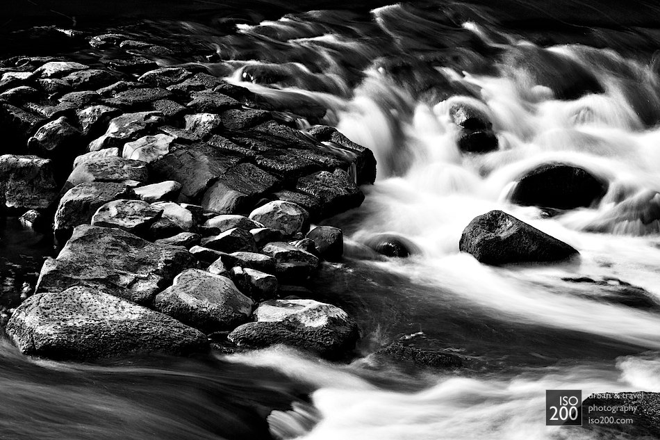 Photo blog post: 'Cramond rapids'