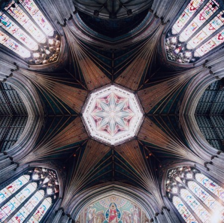 The Geometry of God: the striking kaleidoscopic patterns of European cathedral ceilings