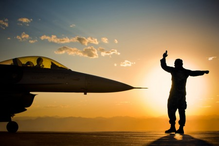 F16 pilots at work – photos by Tyler Stableford