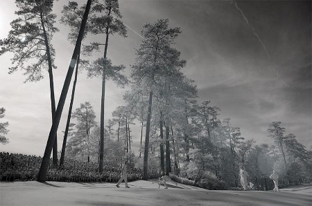 In a different light – infra red photos of the Masters at Augusta National
