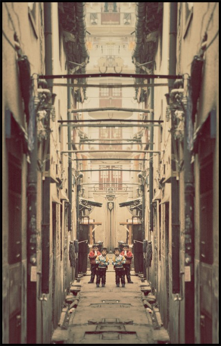 China in a mirror – photos by Atelier Olschinsky