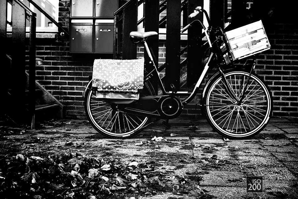 Photo blog post: 'Bicycle on a street'