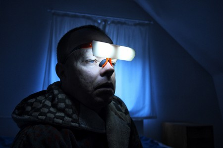 SAD – photos of people suffering from seasonal affective disorder