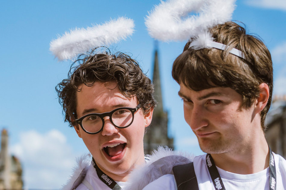 Edinburgh Virtual Fringe 2020 #31 - Two Angels
