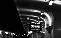 Photo blog photo: 'Brussels Noord Station at night'
