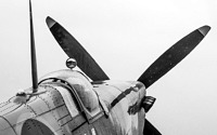 Photo blog photo: 'A spitfire in the rain'