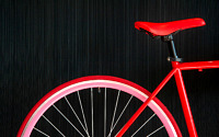 Photo blog photo: 'The reddest red bicycle ever'
